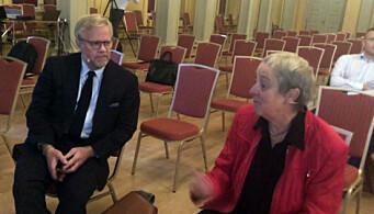 Jon Wessel-Aas og Anne-Margrethe Lund.