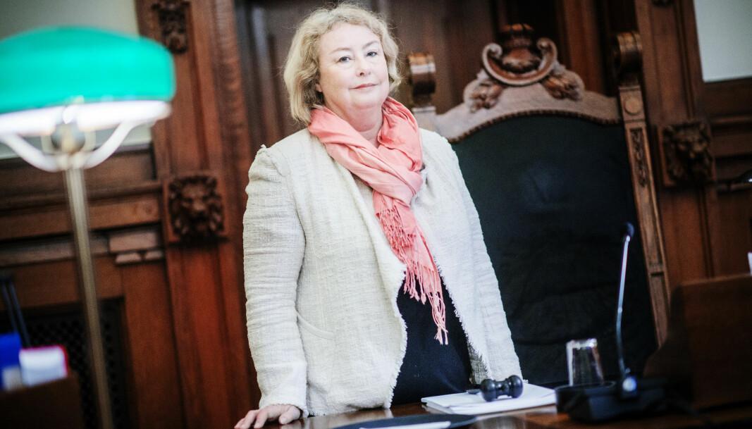 Høyesterettsjustitiarius Toril Marie Øie
