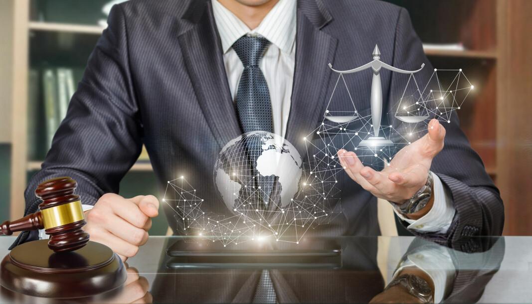 Anthony Caffrey tror aldri advokatene vil bli fullstendig erstattet av teknologi, men spår at bransjen vil endre seg betydelig.