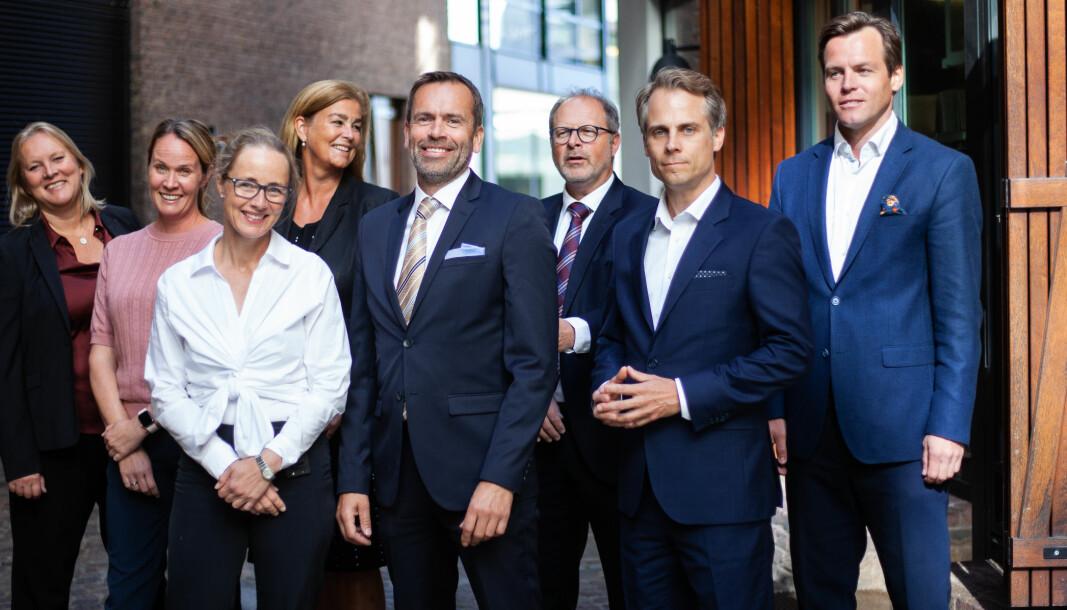 Elin Mathisen, Christine Lie Ulrichsen, Cecilie Wetlesen Borge, Inger Roll Matthiesen, Lasse Ødegaard, Lars Berntsen, Arild Gjelsvik og Benjamin S. Agdestein utgjør partnerskapet i Berngaard.