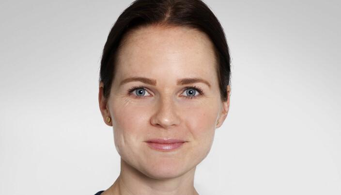 Henriette Willix stusser over at Borgarting lagmannsrett og Oslo tingrett praktiserer ulike smittevernregler.