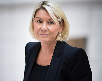 Justisminister Monica Mæland skal dele ut Talentprisen 2020.