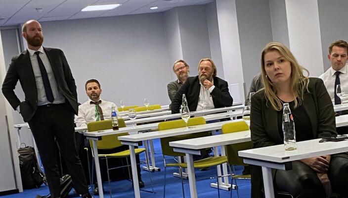 Petter Sogstad Grannes er spesielt opptatt av klausuleringsdebatten, fortalte han da han presenterte seg selv.