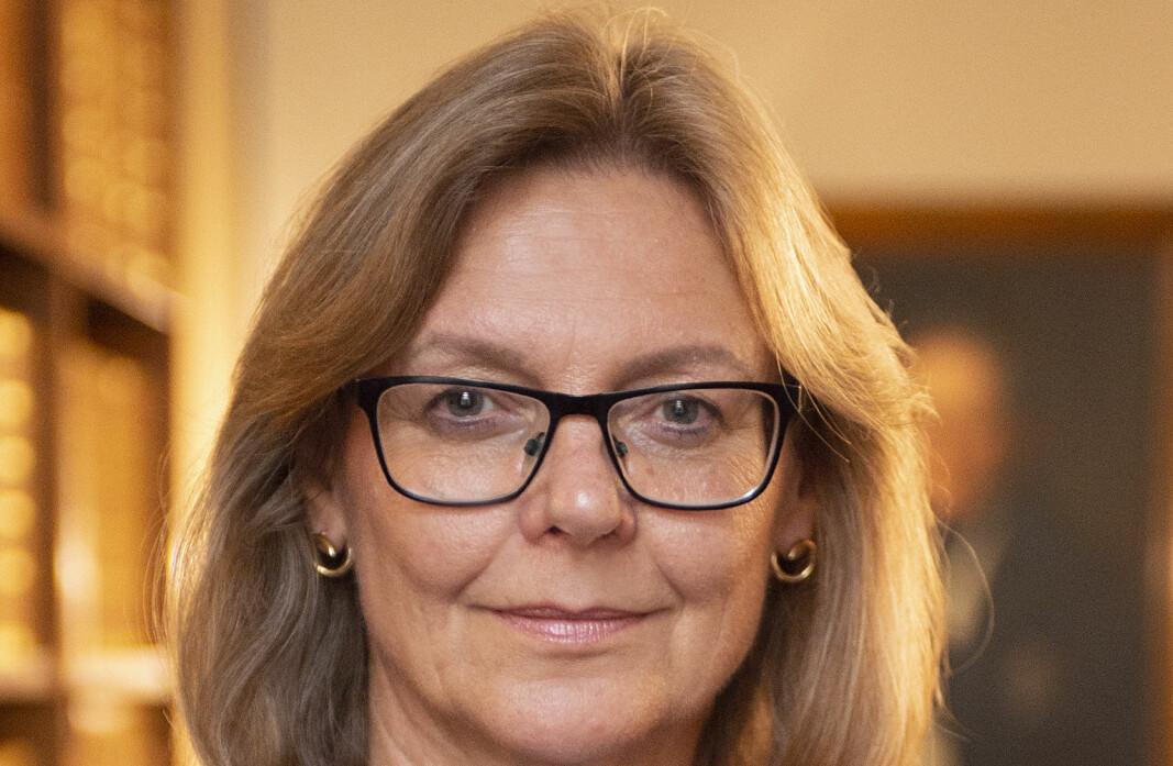 Høyesterettsdommer Hilde Indreberg er blant dommerne som må vike når klimasøksmålet skal opp i plenum.
