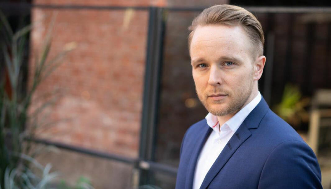 Erlend Wessel Carlsen var frem til utgangen av 2016 redaksjonssjef for Finansavisen JUS.