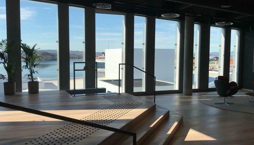 Advokatene i Ræder flyttet i 2019 inn i flunkende nye lokaler i Bjørvika. Nå sendes firmaets advokater på hjemmekontor som resten av Oslos befolkning.