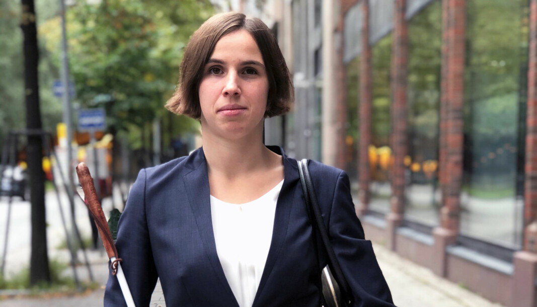 – Generelt har både kolleger, motparter og klienter imponert meg, sier Lotte Tvedt.