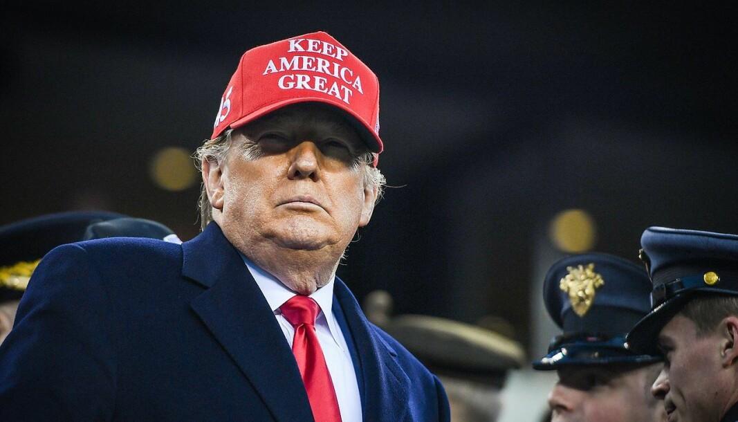 Donald Trump har ennå ikke erkjent valgnederlag mot Joe Biden.