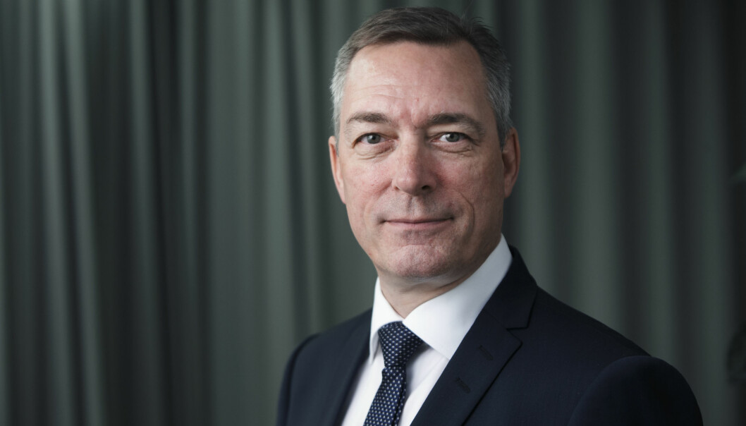Forsvarsminister Frank Bakke Jensen