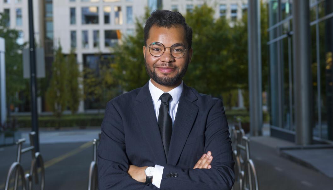 Patrick Oware fra Tromsø startet som advokatfullmektig ved Wikborg Reins Oslo-kontor i august.