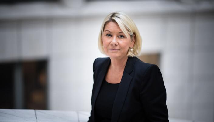 Justisminister Monica Mæland