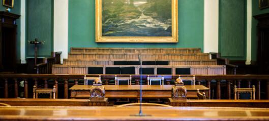 Når kvinnelige dommere er i flertall i Høyesterett, øker vinnersjansene for private parter