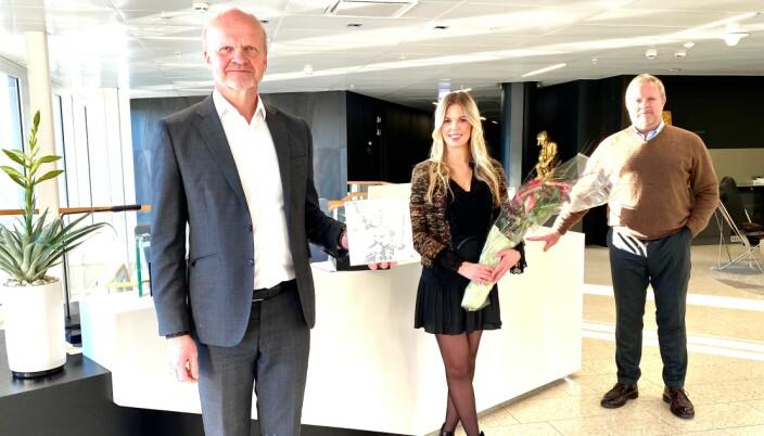 Kai Thøgersen, Jenny Louise Meinich, og Jon Wessel-Aas