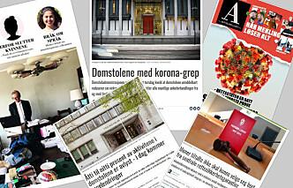 Advokatbladet får heder for korona-dekning