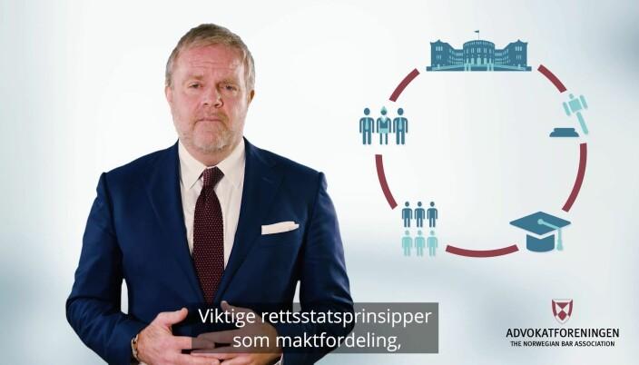Torsdag ettermiddag holdt Jon Wessel-Aas sin første årstale som leder av Advokatforeningen.