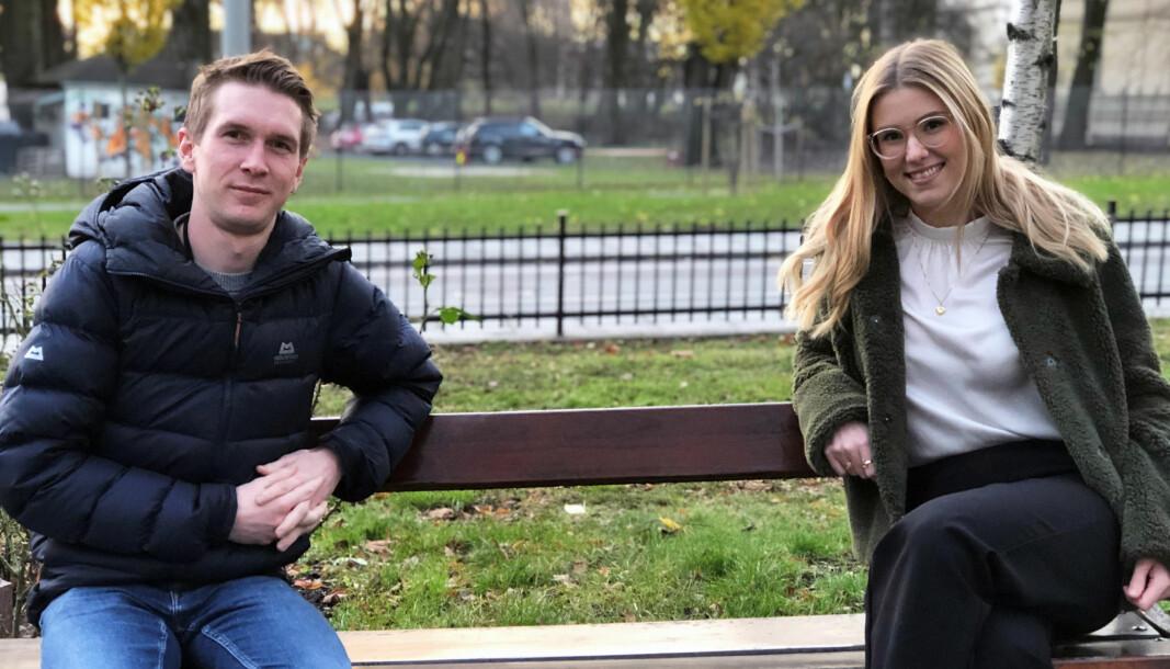 Didrik Beck Rodarte og Marthine Høhrbye savnet selv flere praktiske svar da de var ferske advokatfullmektiger.