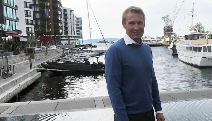 Simonsen Vogt Wiig-partner Thom Erik Borgen gleder seg over prisen.