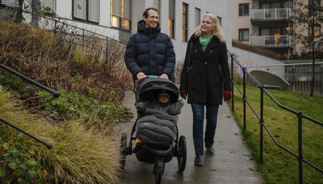 Emanuel Feinberg gikk rett fra plenumssaken til pappa-permisjon.
