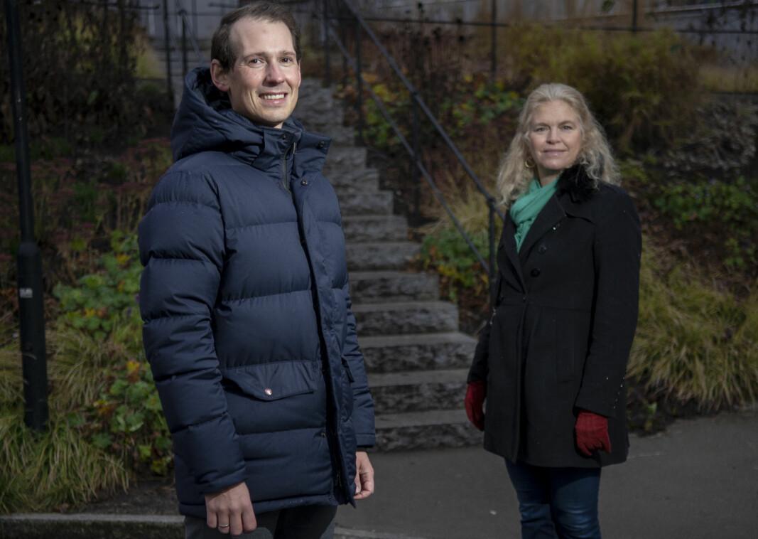 Emanuel Feinberg i Glittertind og Cathrine Hambro i Wahl-Larsen Advokatfirma.