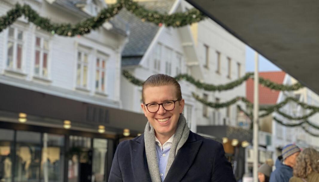 Christoffer Falkeid nyter roligere juledager på Vestlandet etter tre uker i Høyesterett rett før juleferien.
