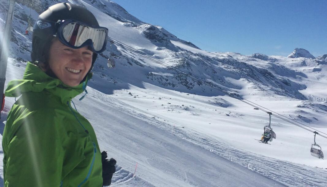 Thommessen-partner June Snemyr lengter tilbake til solfylte dager i slalåmbakken.