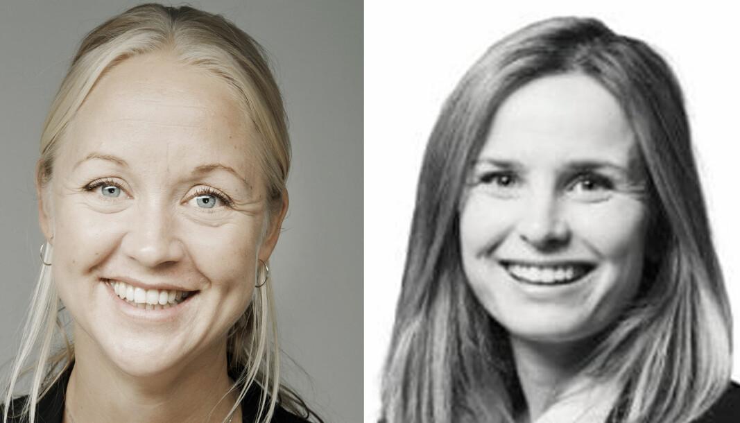 Hedvig B. Reiersen og Marit Asphaug er nyvalgte lovutvalgsledere i Advokatforeningen.