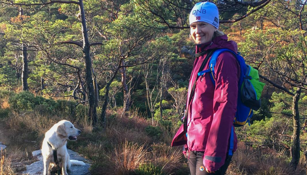 Foreløpig er det lite som tyder på at det blir en hvit jul i Stavanger for Thommessen-partner June Snemyr.