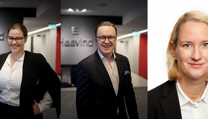 Tre nye Haavind-partnere