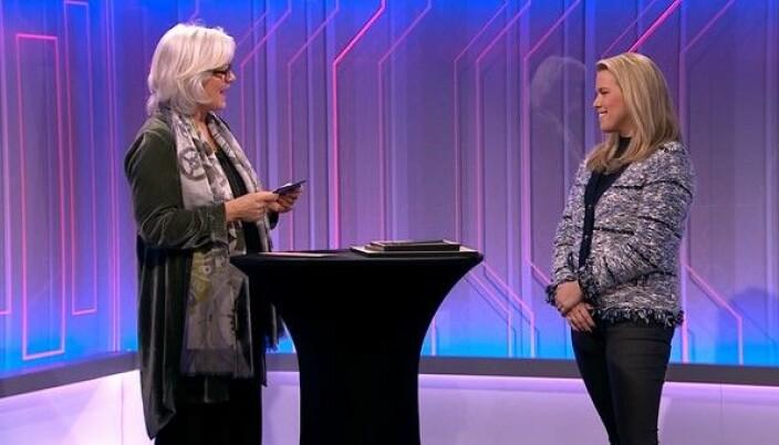 Thommessen-partner Ylva Gjesdahl Petersen mottok prisen under en utdeling onsdag.