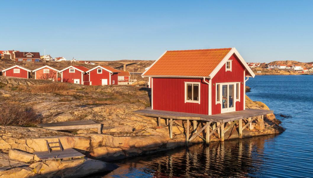 Mange nordmenn har hytte i den svenske skjærgården, deriblant Bohuslän, som her på den idylliske øya Smögen.