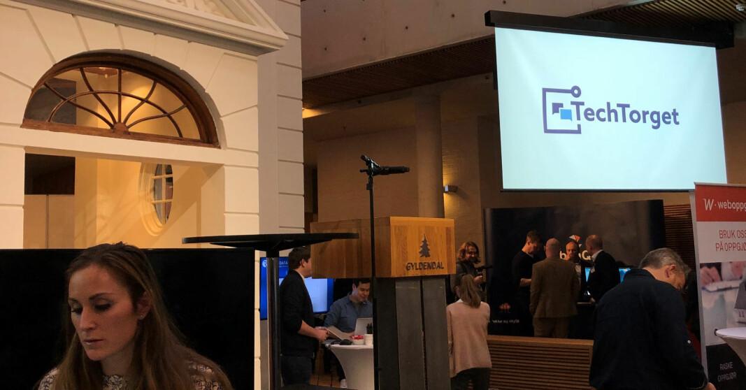 TechTorgets ble en publikumssuksess da det ble arrangert for første gang i 2019 i Gyldendalhuset.