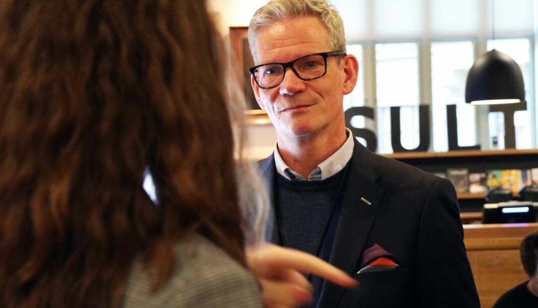 Knut-Magnar Aanestad fotografert på TechTorget i 2019.