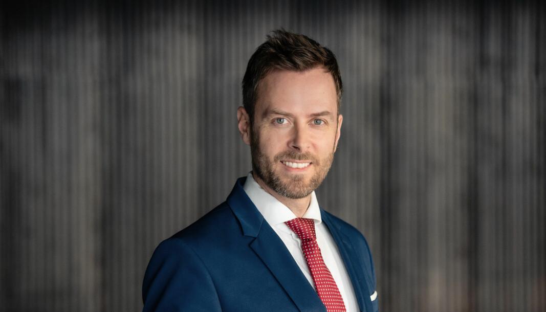 Lars Christian K. Skjelvan tok nylig fatt på nye oppgaver i Ræder.