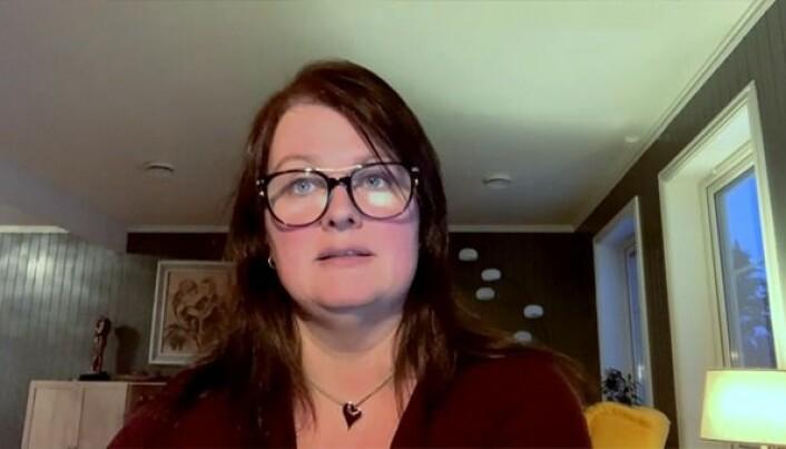 Statssekretær Heidi Nakken svarte på vegne av Regjeringen.