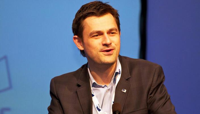 Yngve Brox er kommunikasjonssjef i DA.