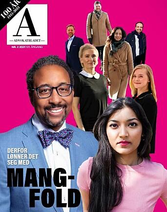 Advokatbladets mars-utgave har viet mangfold i advokatbransjen stor oppmerksomhet.