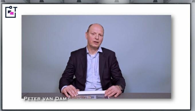 Peter van Dam gjorde kort rede for status for advokaters bruk av teknologi i Norge.