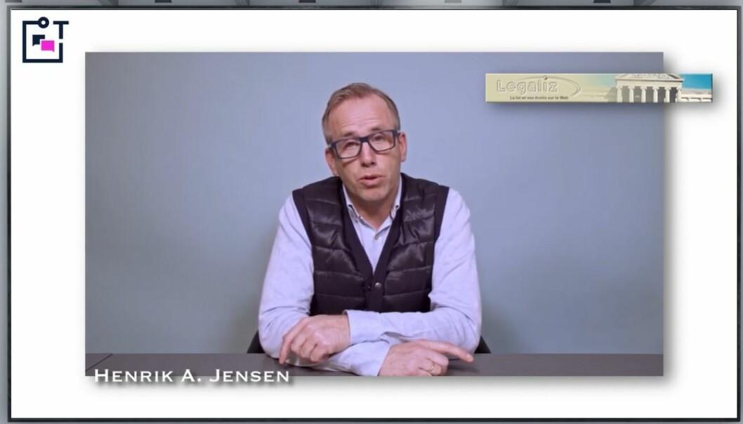 Henrik A. Jensen mener legal tech kan deles i kategoriene ekstern og intern. Han ga råd om hvordan du finner frem i jungelen av IT-løsninger.