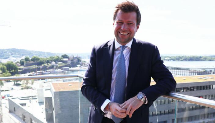 Rekrutteringsansvarlig partner Ole Henrik Wille i Wikborg Rein gleder seg over kåringen.