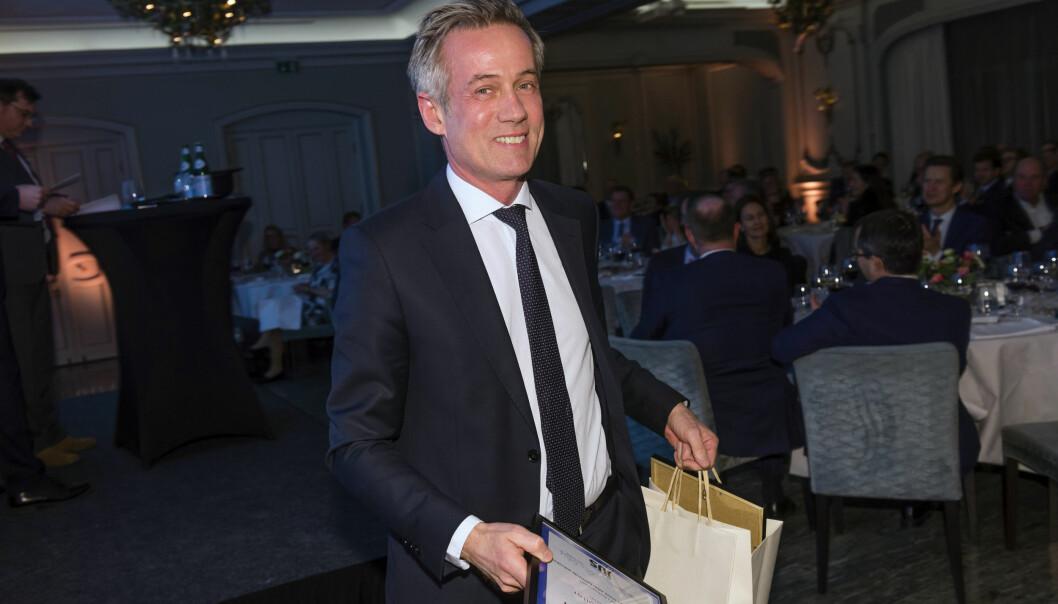 Morten Goller har grunn til å feire etter den siste Prospera-kåringen. Her fra Finansavisens advokatundersøkelse i februar 2020.