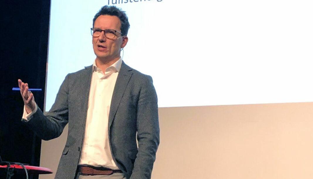 En master i rettsvitenskap ved BI vil kvalifisere studentene til jobber også utenom de forretningsjuridiske firmaene, ifølge Morten Kinander.