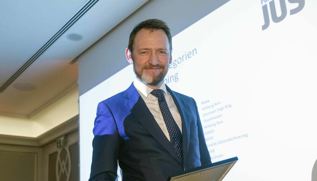Oddbjørn Slinning ble tidligere i år managing partner i SANDS. Nå har han fått flere nye kolleger.