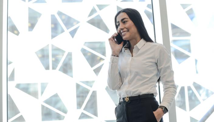 Elif Demirbas foretrekker å jobbe i et lite firma der hun kan være selvstendig, forteller hun.