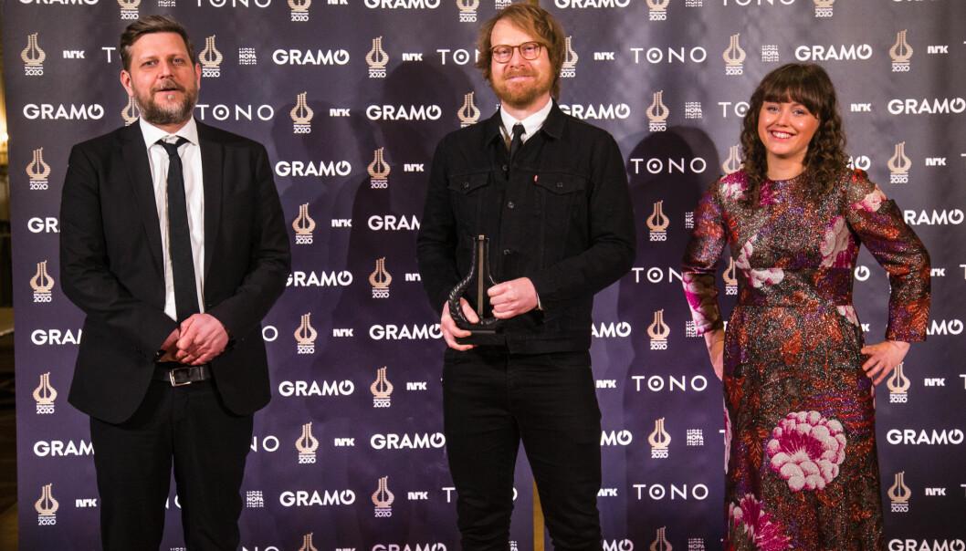 Frode Bjørnstad, John Arne Gundersen og Anne Mette Hårdnes er vinnere av årets Spellemannpris.