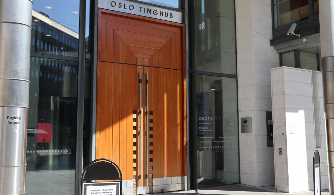 Fra og med 26. april ble Oslo tingrett og Oslo byfogdembete til én domstol i Oslo tinghus.