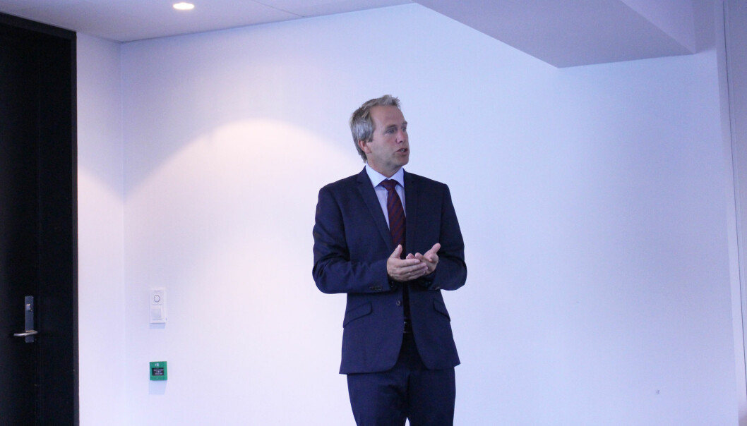 Henrik A. Jensen er styreleder i Therium som er med på å finansiere søksmålet.
