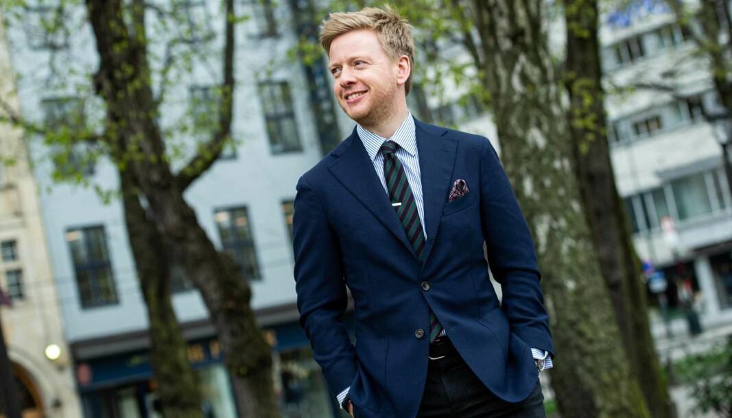 Julius Berg Kaasin ser frem til å bygge opp noe nytt i Brækhus.