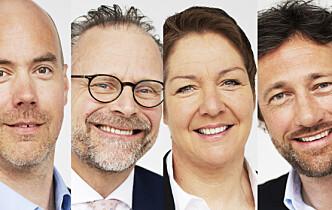 Fire tidligere Simonsen Vogt Wiig-partnere starter nytt firma i Trondheim