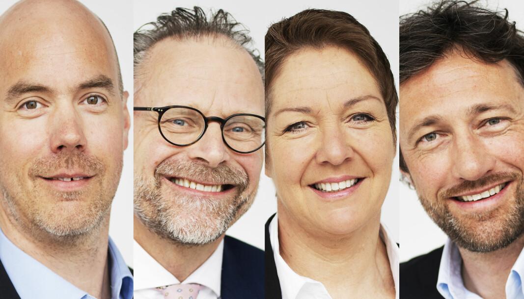 Jon Oppedal Vale, Tore Holtan, Marianne Kartum og Kjell Sagen Berg.