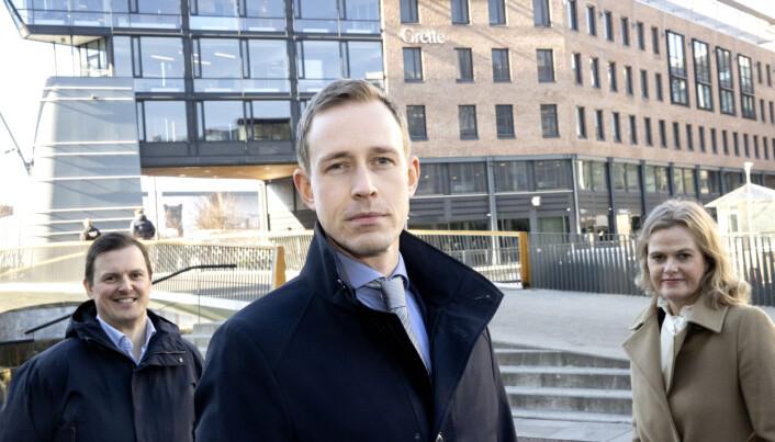 Thomas Borch-Nielsen, Anders Nordli, og Kari-Ann Mosti har alle ankommet Grette i løpet av de siste par årene.